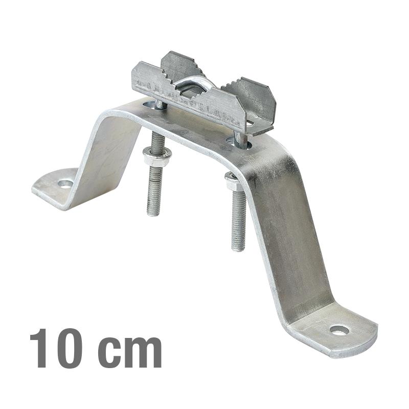MAST MONTAGE HALTERUNG -V- 10cm