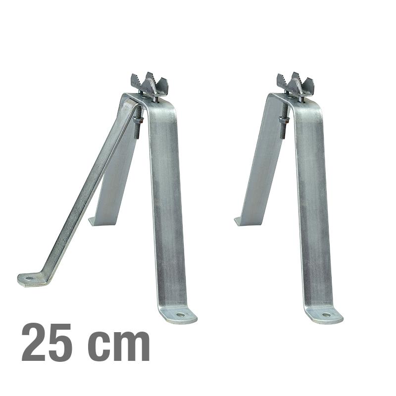 MAST MONTAGE HALTERUNG -V- 25cm SET
