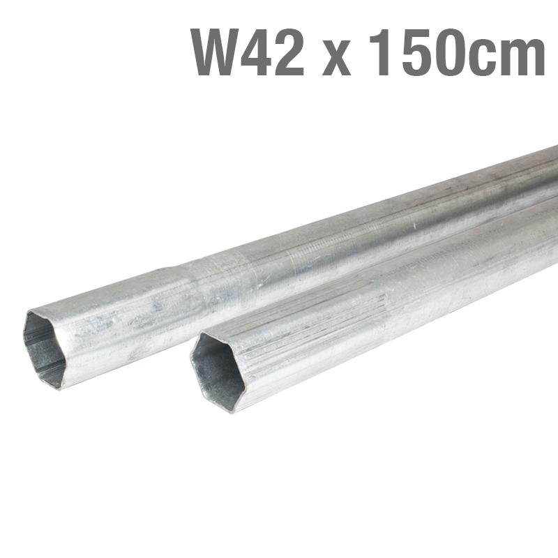 METALL MAST GALVANISIERT 42mmx1,5mm 150cm