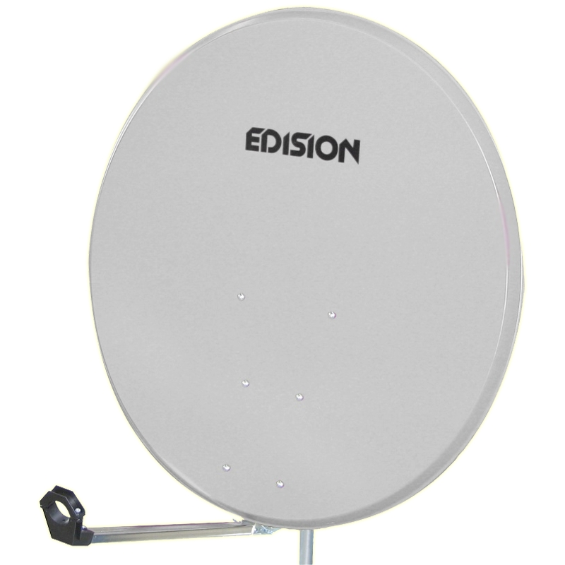 SATELLITE DISH 60 STEEL WHITE