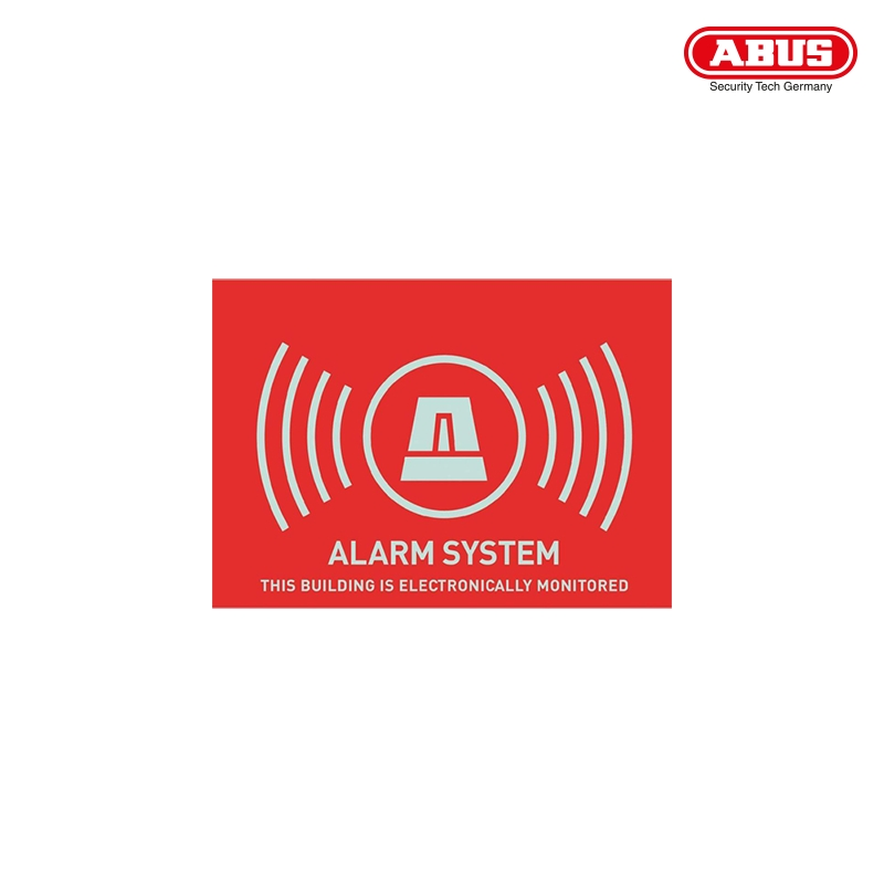 AU1315 Warning Sticker ''Alarm'' 74X52,5mm