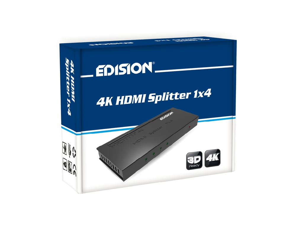 HDMI SPLITTER / 4K HDMI Splitter 1x4