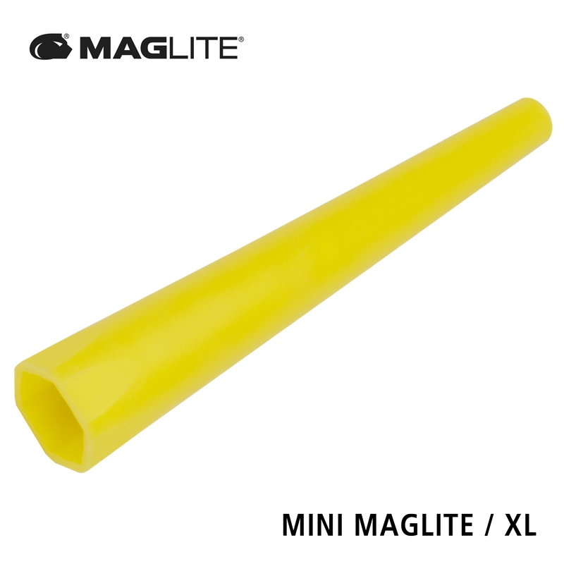 AM2ABRB Traffic/Safety wand for MINI MAGLITE / XL yellow