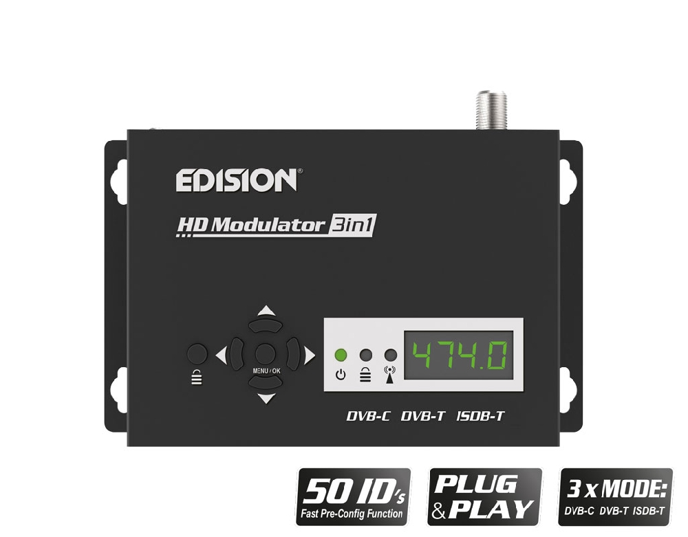 HDMI MODULATOR 3in1