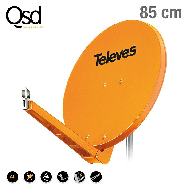 7903 DISH QSD 85 ALU orange