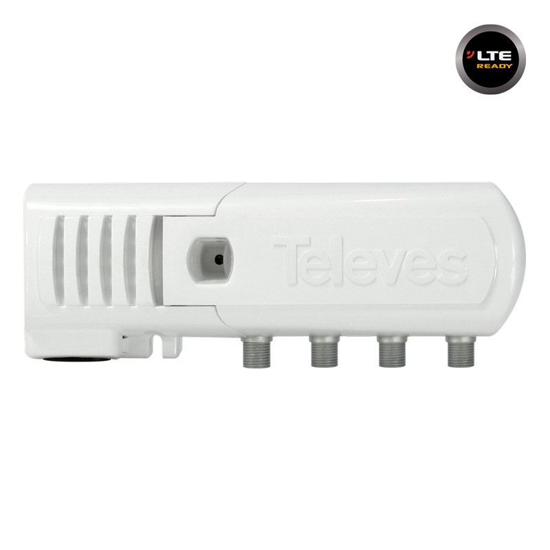 552240 Line Amplifier F 20dB 106dBuV VHF/UHF 2out LTE