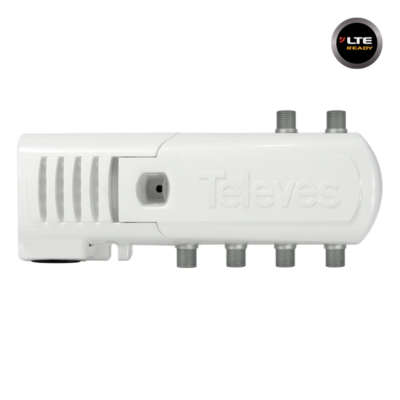 552340 Line Amplifier F 16dB 102dBuV VHF/UHF 4out LTE