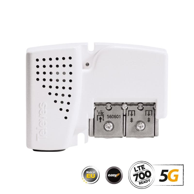 560601 PicoKom Line Amplifier AGC 5G LTE UHF/VHF/SAT 2out