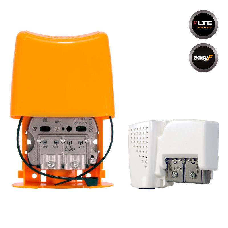 438640 NanoKom Kit: ΕΝΙΣΧΥΤΗΣ ΙΣΤΟΥ + PSU 12V UHF/VHF/SAT