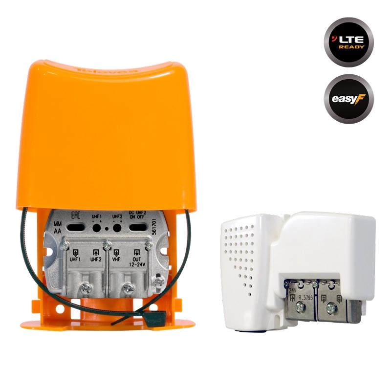568002 NanoKom Kit: ΕΝΙΣΧΥΤΗΣ ΙΣΤΟΥ + PSU 24V UHF/UHF/VHF