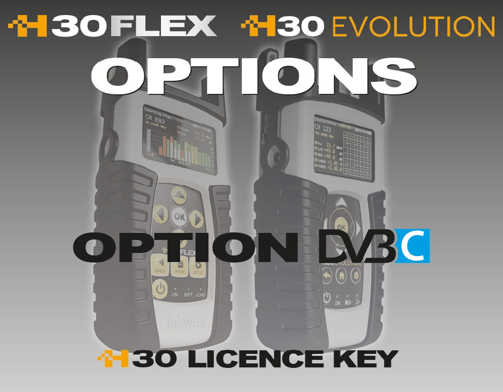 593233 Option DVB-C for H30FLEX/EVOLUTION