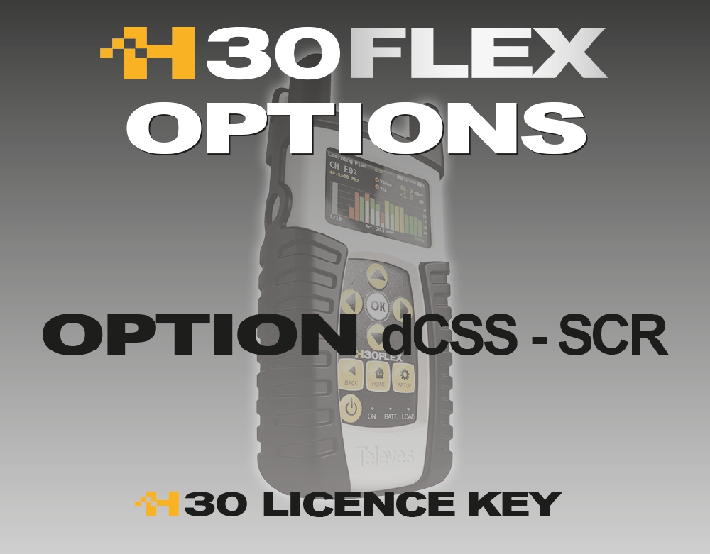 593234 Option dCSS - SCR for H30FLEX