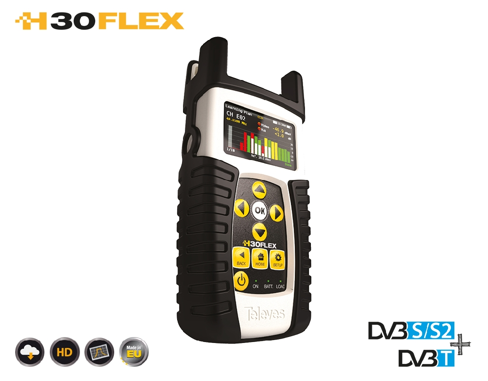 593301 H30FLEX DVB-S/S2 + DVB-T