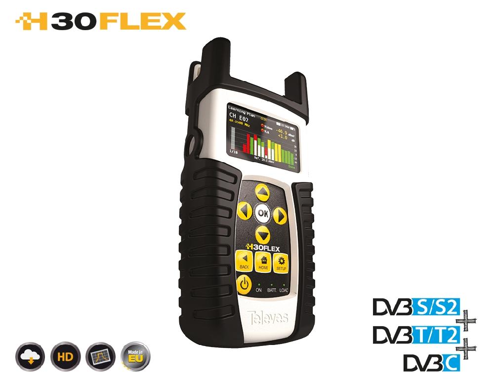 593304 H30FLEX: DVB-S/S2 + T/T2 + C