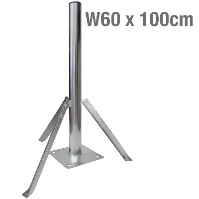 GROUND SUPPORT 3 POINT W60 x 100cm