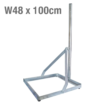 GROUND BALCONY SUPPORT W48 x 100cm