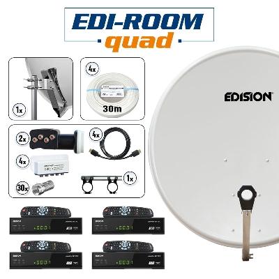 EDI-ROOM quad