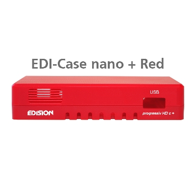 EDI-Case nano plus Κόκκινο