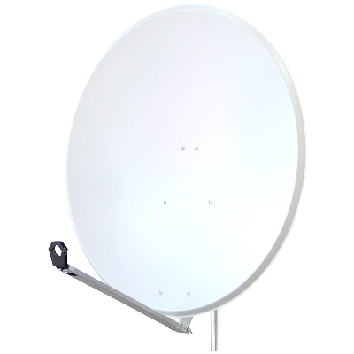 SATELLITE DISH 115 STEEL WHITE