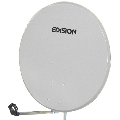 SATELLITE DISH 85 STEEL WHITE
