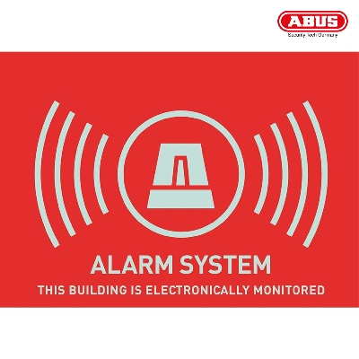 AU1314 Warning Sticker ''Alarm'' 148X105mm