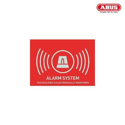 AU1315 Warning Sticker ''Alarm'' 74X52,5mm