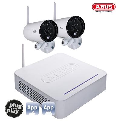 TVAC18000B DVR Kit + 2 Outdoor Cameras Wireless