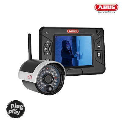 TVAC15000B 3.5 Home Video Surveillance Set