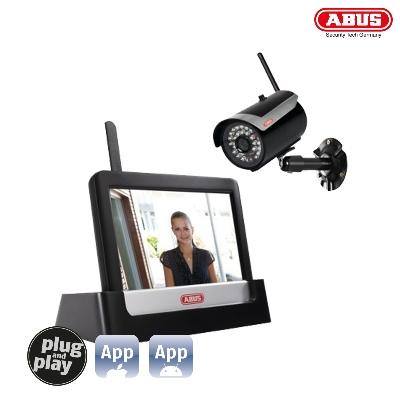 TVAC16001A 7 Home Video Surveillance Set Touch & App