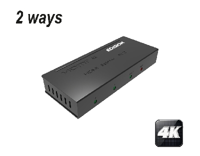 4K HDMI Splitter 1x2