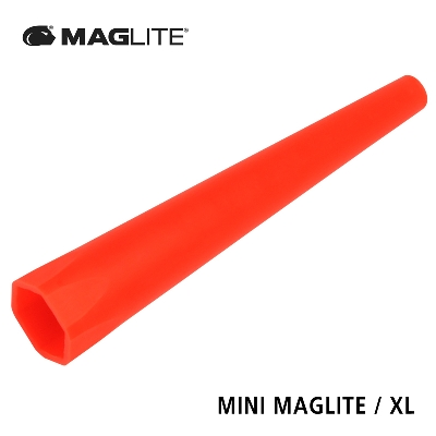 AM2ABPB Traffic/Safety wand for MINI MAGLITE / XL red