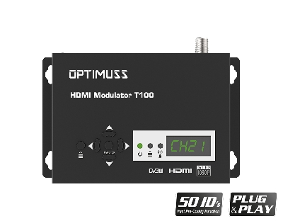OPTIMUSS HDMI MODULATOR T100