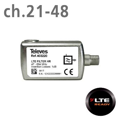 403220 LTE FILTER 5G (ch.21-48) F