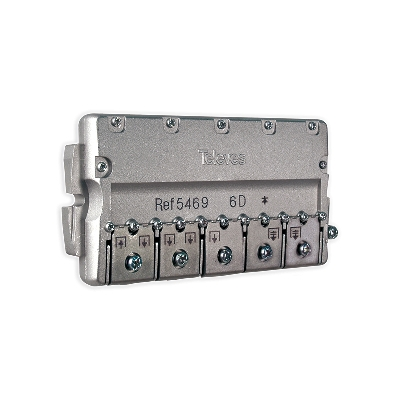 5469 splitter 6 ways Easy-F 5-2400 MHz DC pass