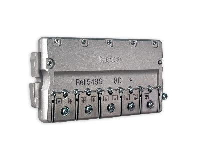 5489 splitter 8 ways Easy-F 5-2400 MHz DC pass