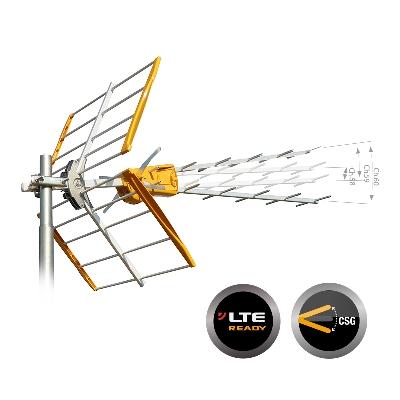 149201 ''V'' ZENIT LTE Ch.21-58/59/60 15dB