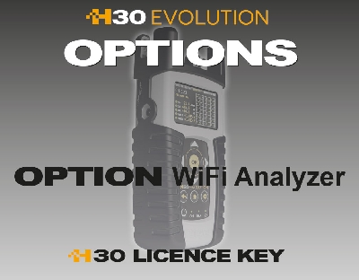 593250 Option WiFi Analyzer for H30EVOLUTION