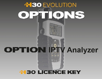 593251 Option IPTV Analyzer for H30EVOLUTION