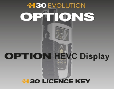 593252 Option HEVC Display for H30EVOLUTION