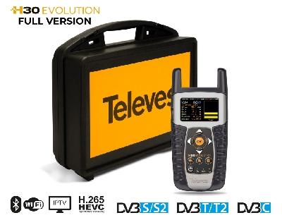 593505 H30EVOLUTION FULL DVB + IPTV + WiFi + HEVC + CASE