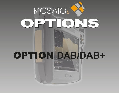 596204 MOSAIQ6 Option DAB/DAB+