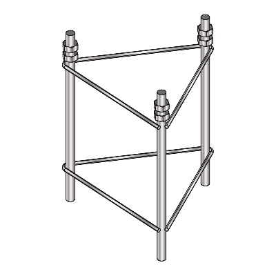 3029 TOWERS FRAME BASE EMBEDDED 180