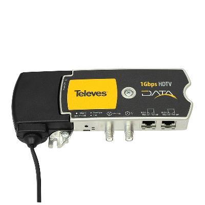 769201 CoaxData 1Gbps COAX+PLC 2xETH