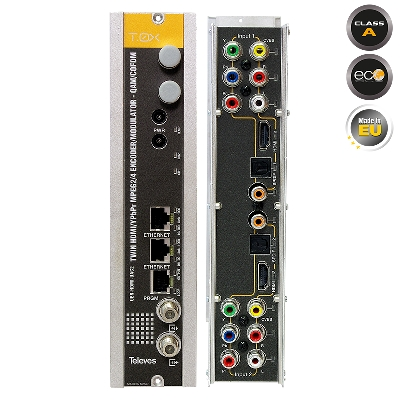 563832 T.0X TWIN Modulator HDMI/AV to COFDM/QAM
