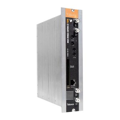 564301 T.0X DVB-S2 MUX 3:2 CI to 2x COFDM