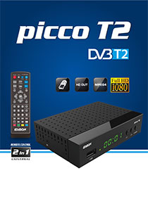 EDISION PICCO T2. THE BRAND NEW FULL HD DVB-T2 RECEIVER FROM EDISION, WITH MORE!