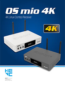 EDISION OS MIO, THE 4K UHD RECEIVER FROM EDISION!