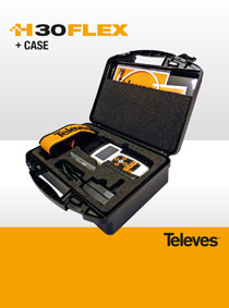 TELEVES H30FLEX, NEW VERSION WITH CARRYING CASE!