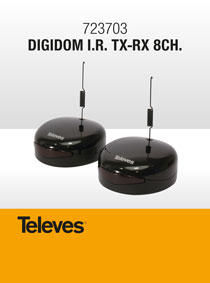 NEW TELEVES 723703 DIGIDOM FOR WIRELESS IR COMMAND TRANSMISSION