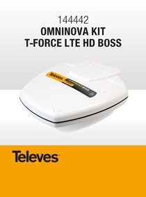 OMNIDIRECTIONAL and COMPACT. The NEW 144442 OMNINOVA KIT T-FORCE LTE HD BOSS!